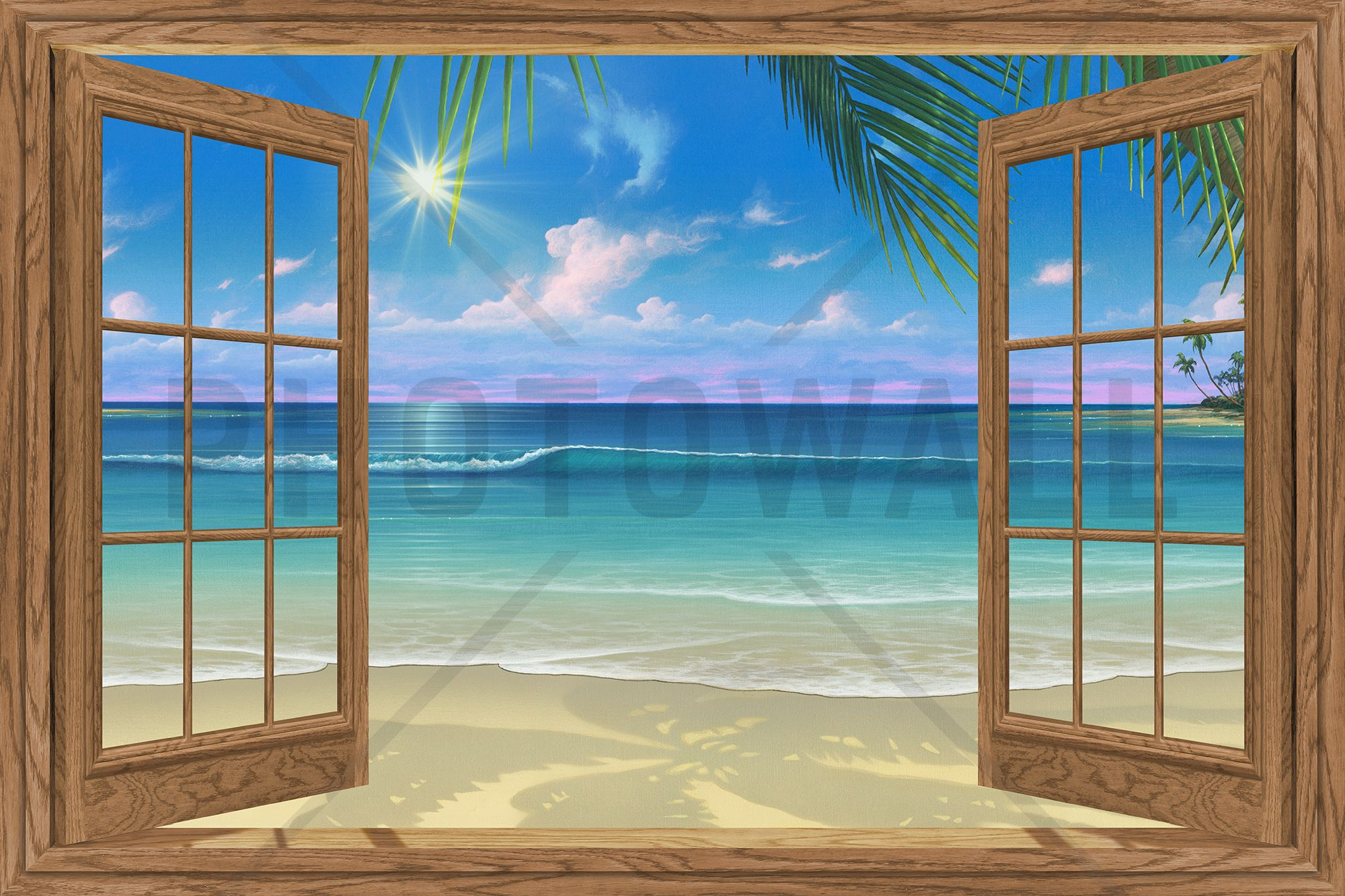 View of Paradise - Wall Mural & Photo Wallpaper - Photowall