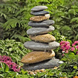 Riverstone Garden Fountain