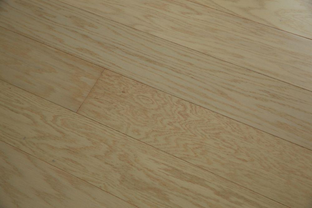 Red Oak Milk Engineered Hardwood Flooring Engineered