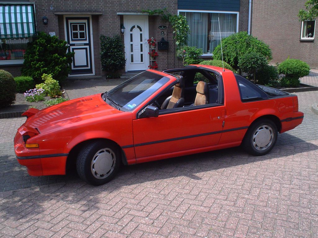 My first car was an 88 Nissan Pulsar NX SE with removable hatch and