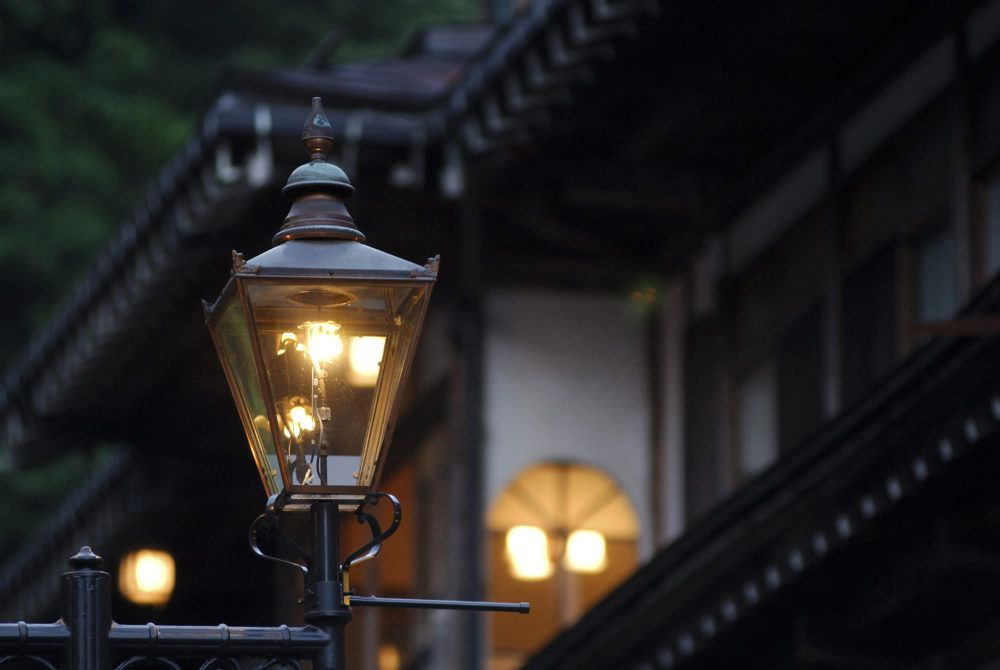 A History Of Outdoor Lighting The 19th Century Lighting Innovations Lead To Manufacturing Innovations Street Light Gas Lights Outdoor Lighting