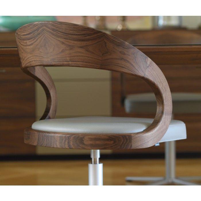 Drehstuhl girado der usserst elegante drehstuhl aus dem hause von team 7 besticht neben - Wandfarbe silbergrau ...