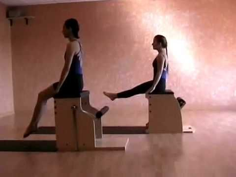 moving breath pilates chair workout dvd sample  chair