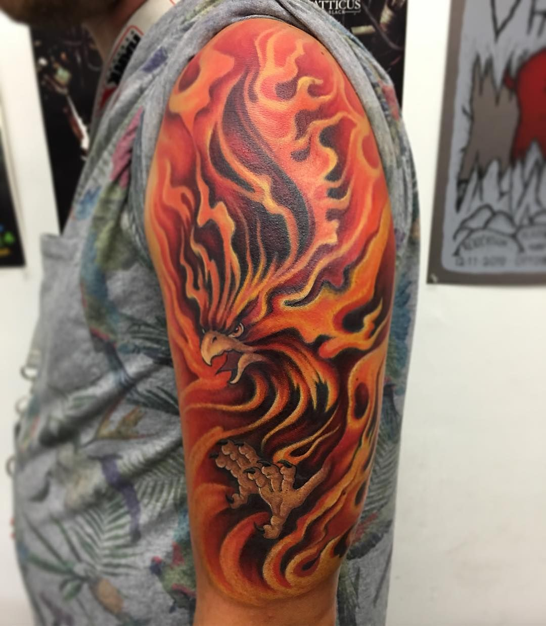 60+ Best Phoenix Tattoo Designs The Coolest Symbol for