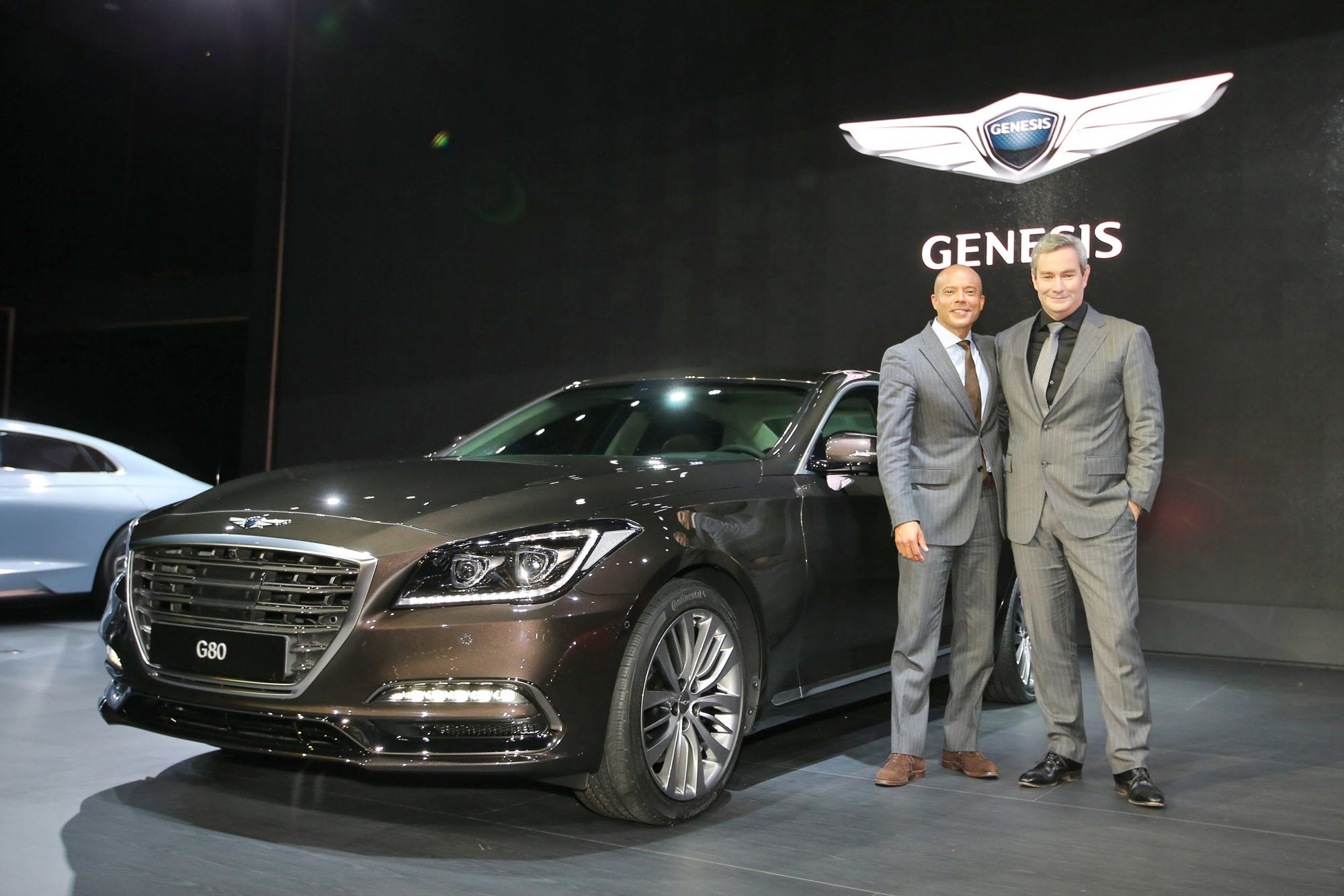 2017 Genesis G80 5 0 Has A Very Aggressive In The Auto Show That Will Be Conducted Diu New York We Saw Back March