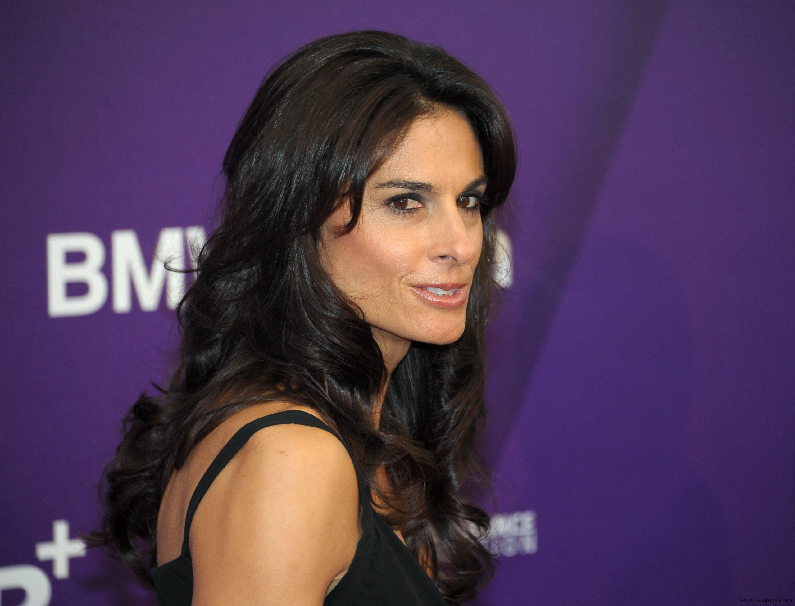 Former Argentinian tennis player Gabriela Sabatini is photographed