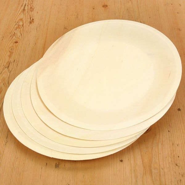 Wooden Disposable Plates - 8 : disposable bamboo plates uk - pezcame.com