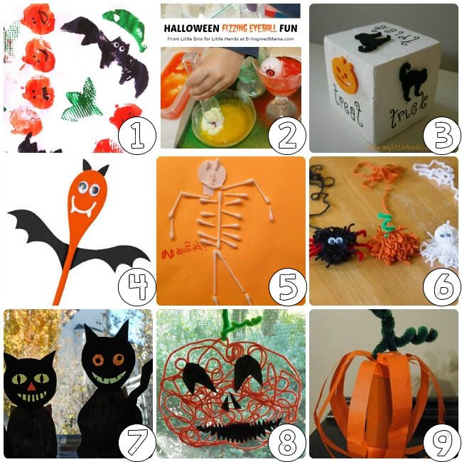 Superb Fall Halloween Craft Ideas Part - 12: 75 Halloween Craft Ideas For Kids