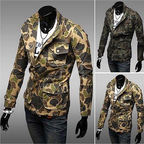 Slim Fit Veste Utilitaire http://www.fashionaccess.fr