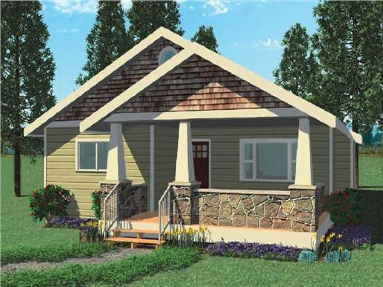 Bungalow House Plans Philippines Design One Story Floor California Bungalow House Plans Bungalow House Design Duplex House Design