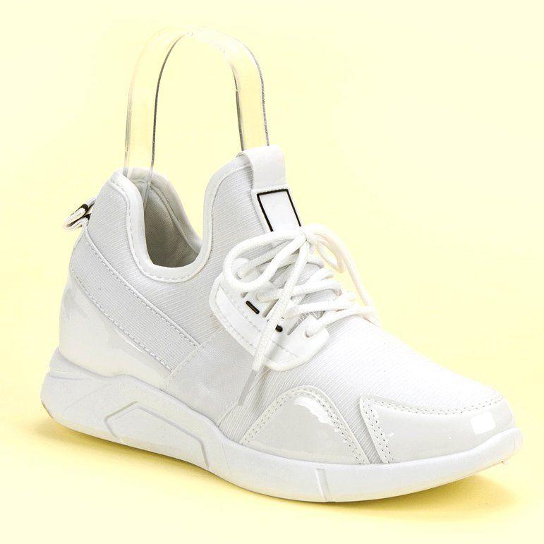 Biale Wsuwane Sneakersy Sneakers Adidas Tubular Adidas Sneakers