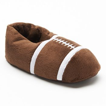 8c0ec55c2 Football Slippers - Boys 8-20 | Kids slippers | Kids slippers ...