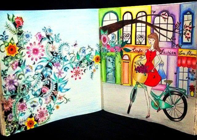 Inspiracao Livro Jardim Secreto