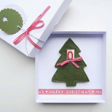 Geldgeschenk-Verpackung Weihnachten
