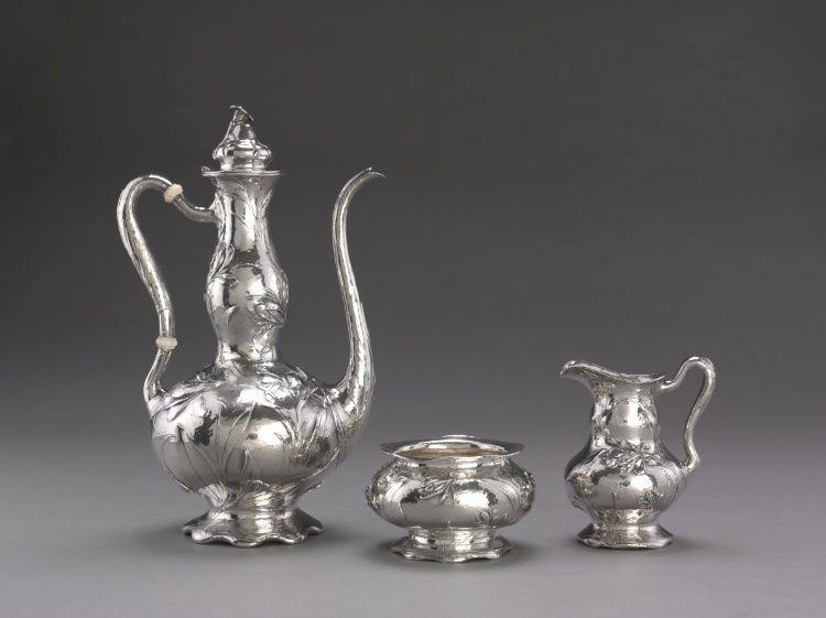 Martelé Coffee Service: Sugar Bowl, C. 1900-1910