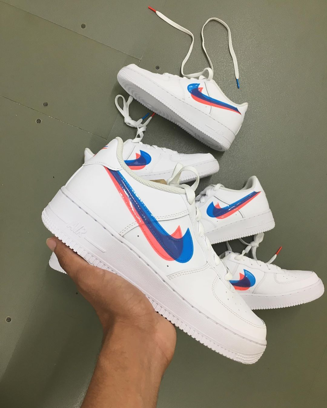 Nike Air Force 1 3D Junior sizes online