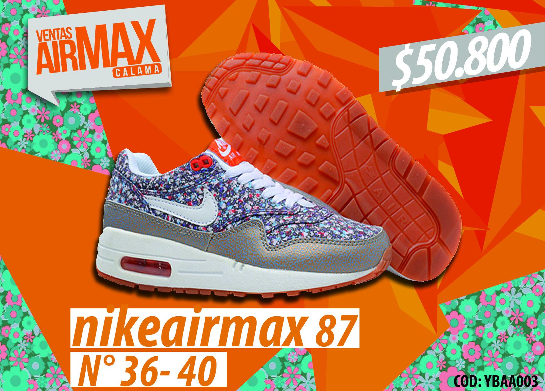 air max exclusivas