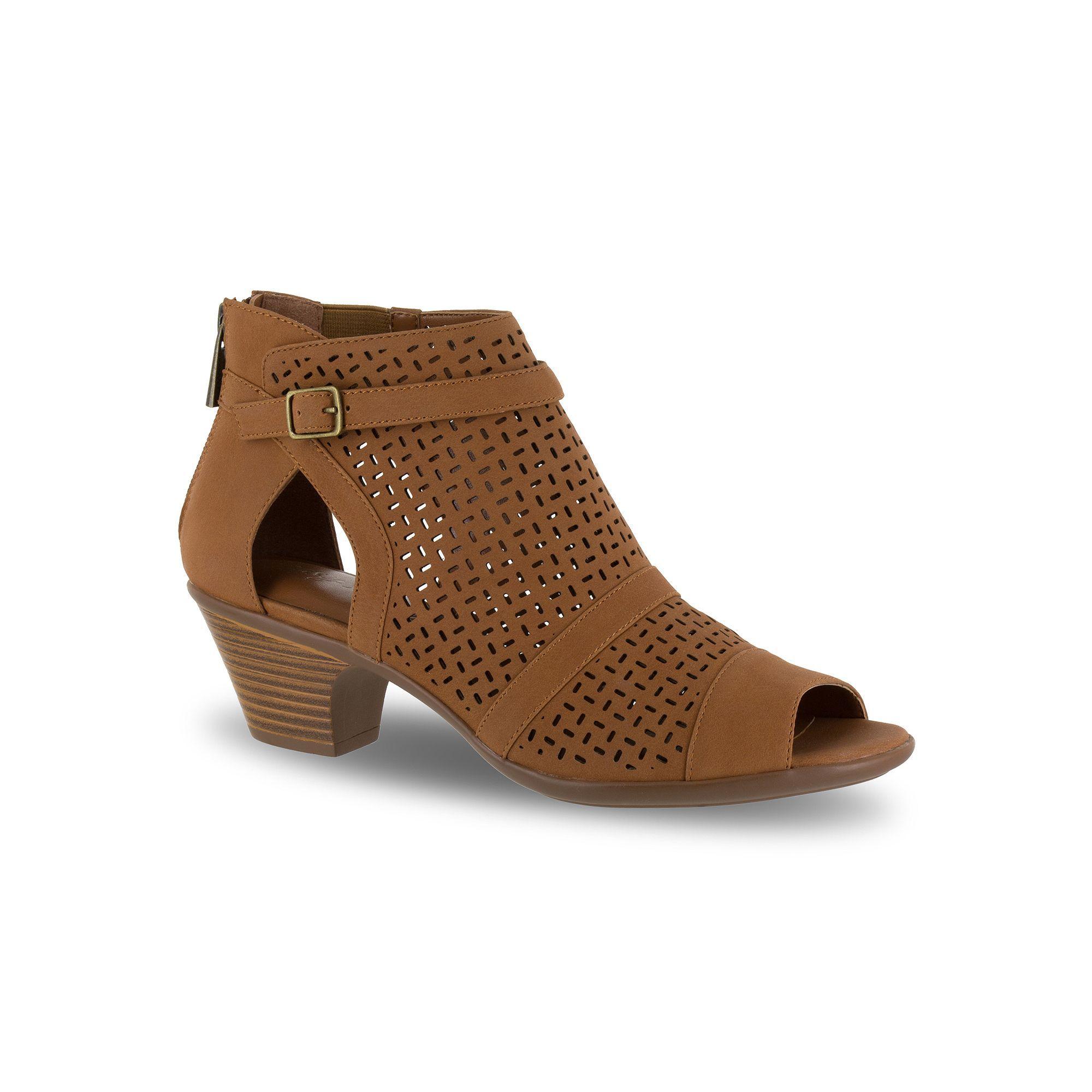 65d2e4ad42e8 Easy street carrigan women sandals size medium dark brown jpg 2000x2000 Dark  brown womens sandals
