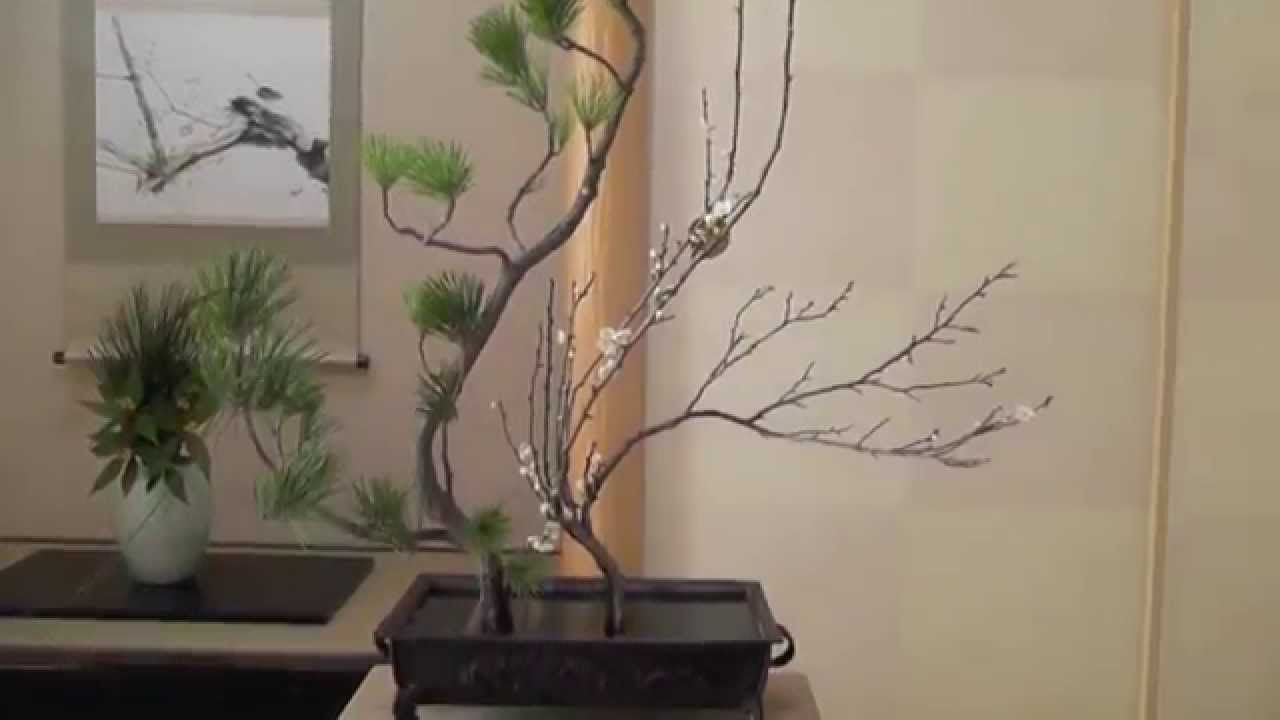 How to make an authentic Ikebana 2 いけばな華道遠州