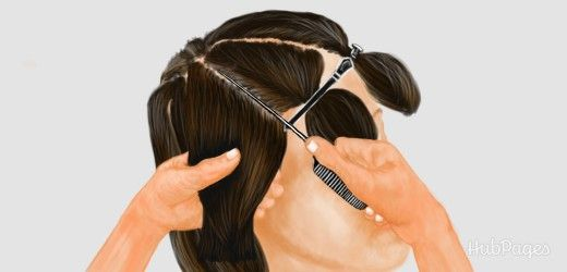 Diy dye using a tail comb to section streaks of hair for highlights do it yourself hairdressing foils how to apply foils to highlight bleach color exclude and touch up the roots of your hair solutioingenieria Choice Image