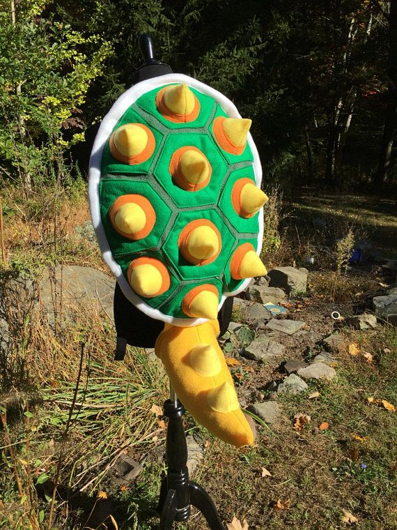 6070af17e4 2 Piece Bowser Costume Shell   Tail Set.. The King Koopa of Halloween  Costumes! For all ages!