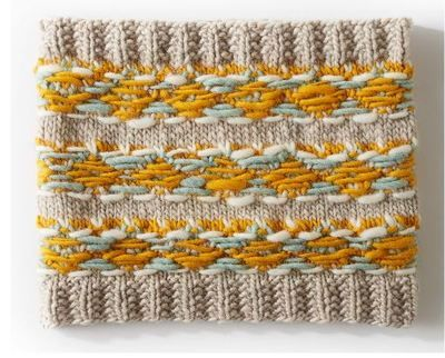 Grandma's Favorite Easy Knit Cowl   Cowl knitting pattern ...