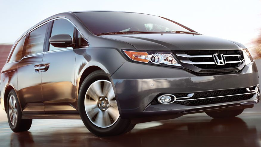 Honda recalls 900,000 Odyssey minivans; 2nd row seat may