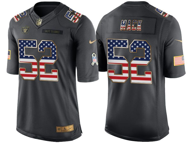 aab8680ae switzerland khalil mack mens limited black jersey nike nfl chicago bears  rush usa flag 52 072e2 38376