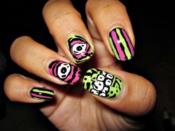 Elegant Halloween nail art designs | Halloween nail ...