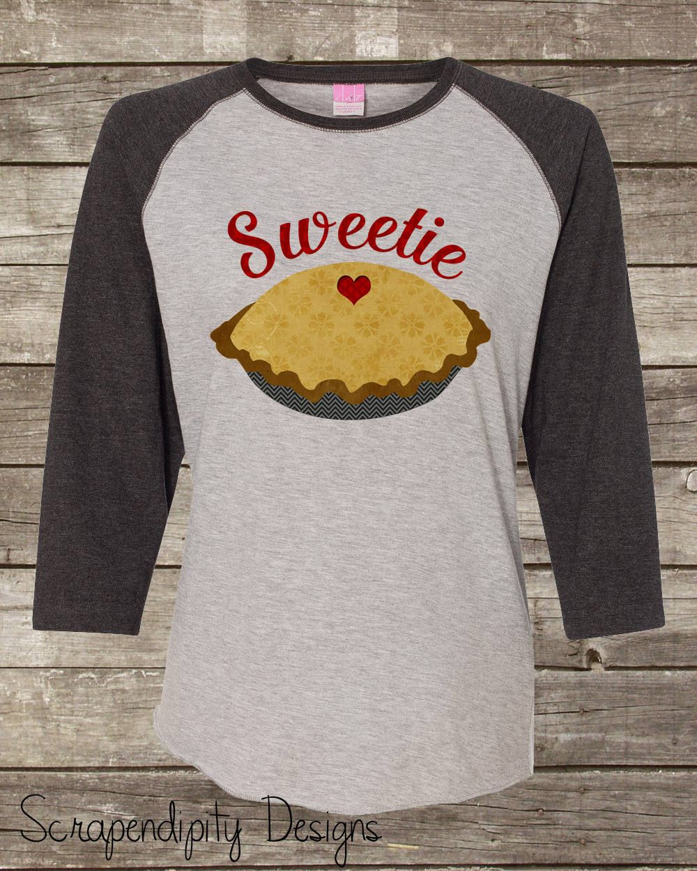 715e497df9bff Womens Thanksgiving Raglan - Kids Thanksgiving T Shirt / Sweetie Pie Tshirt  / Cute Thanksgiving Outfit / Boys Thanksgiving Shirt / Holiday