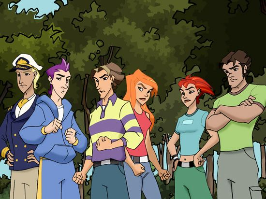 Nelvana com – Shows - Class of the Titans | Class Of The