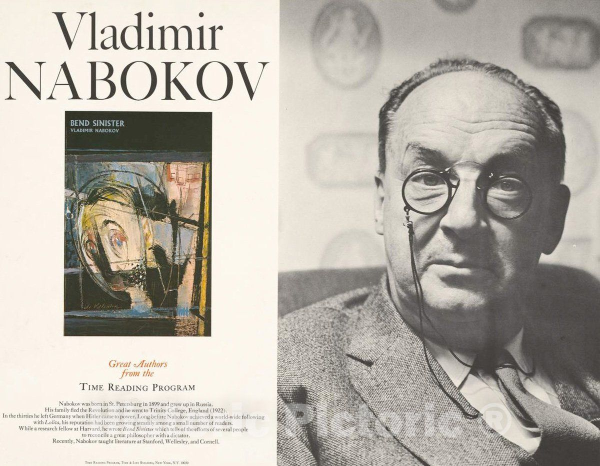 <p>Vladimir Nabokov great authors from the Time Reading Program   Henry Grossman.</p><p>We print high quality reproductions of historical maps, photographs, prints, etc. Because of their historical nature, some of these images may show signs of wear a</p>