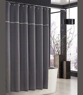 Parc East Grid Trump Shower Curtain Trump Parc East Grid Shower