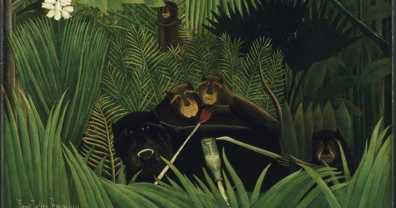... des chemins: Le Douanier Rousseau, le Jardin des Plantes et le Muséum