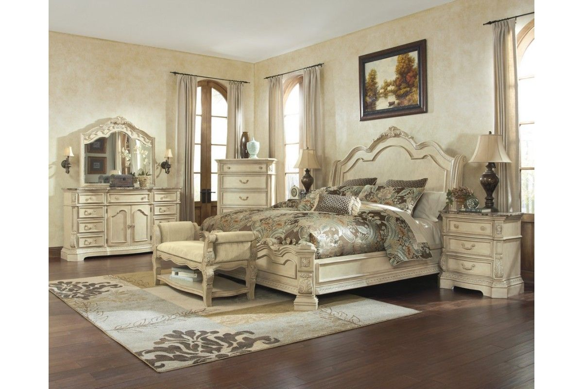 Amazing bedroom sets queen learning tower with bedroom - Ashley furniture pheasant run bedroom set ...