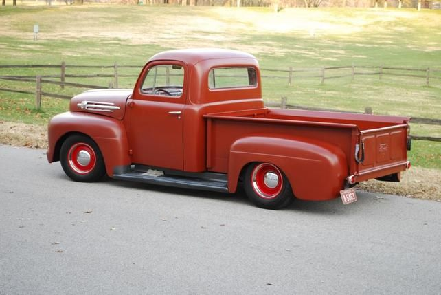 Pic request:Rustoleum red oxide primer trucks - The 1947