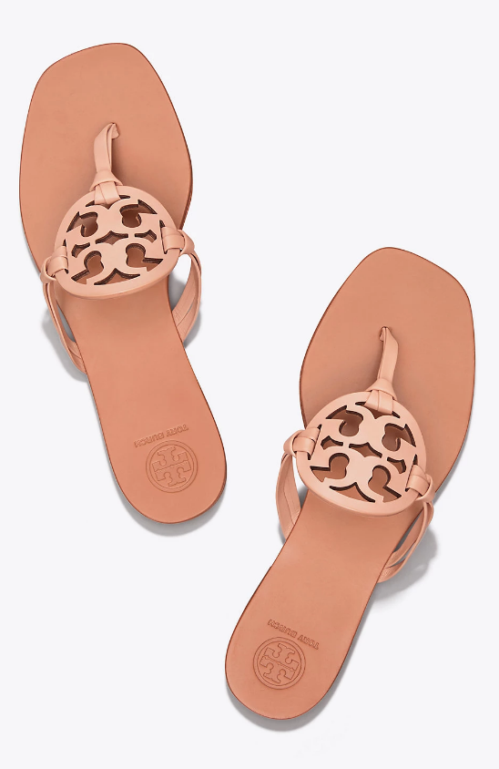 fee4bcdd80503 Tory Burch Miller Square-Toe Sandal