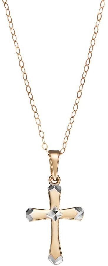 10k gold cross pendant necklace gold cross pendants and products 10k gold cross pendant necklace aloadofball Image collections