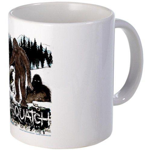 9802ce89 Sasquatch bigfoot Cryptozoology set Mug Mug by CafePress | BigFoot ...