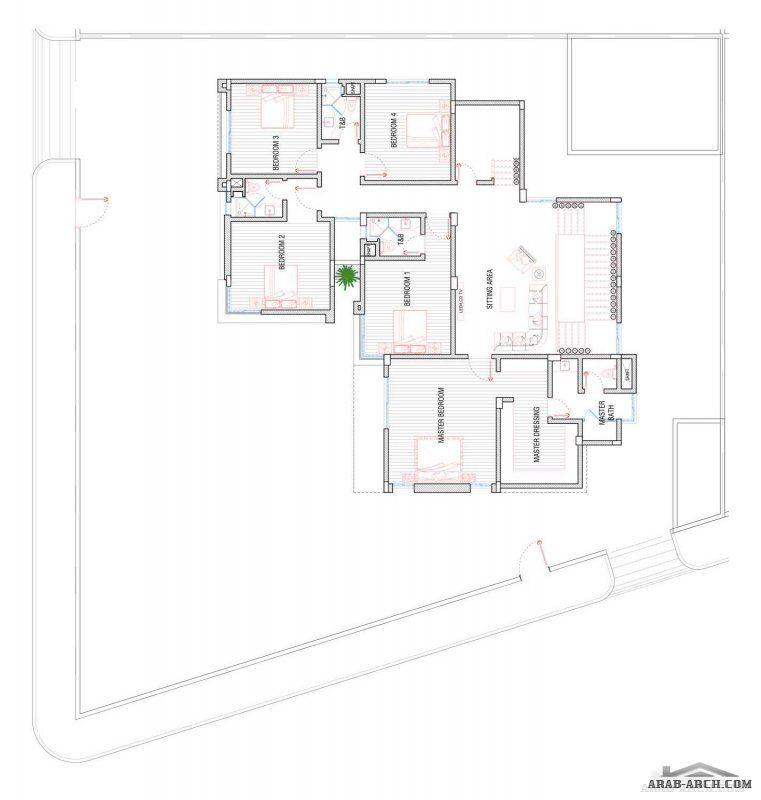 منازل جدة فيلا نموذج A1 مساحة الارض 810 M 2 مساحة مسطح البناء 619 M 2 Villa Design Design House Rooms