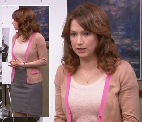 Ellie Kemper As Erin From The Office The Office Erin