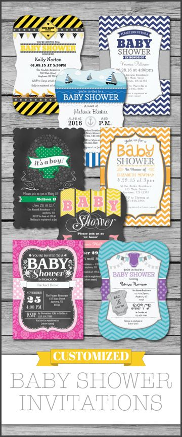 Custom baby shower invitations that you can personalize online all custom baby shower invitations that you can personalize online all types of cute and unique filmwisefo