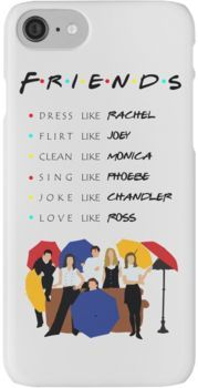 pretty nice c2bf9 37c69 Be like Friends TV show iPhone 7 Cases | Products | Friends tv ...