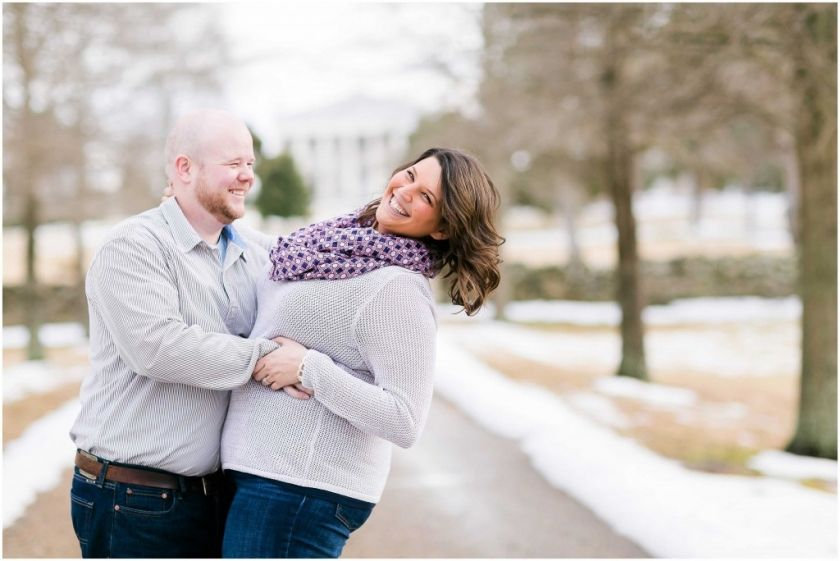 Winter Engagement Session - Berry Hill Mansion - Virginia | Heather Chipps Photography   www.heatherchippsphotography.com