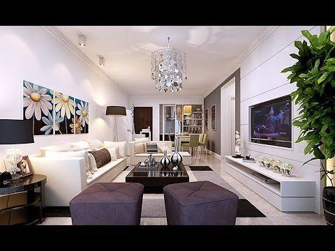 Latest Modern Design LCD T.V Wall units ideas | Living room Wall ...