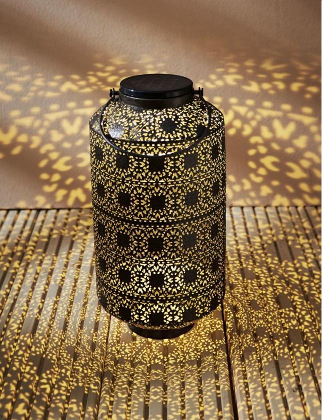ein traum von 1001 nacht solarleuchte oriental braun. Black Bedroom Furniture Sets. Home Design Ideas