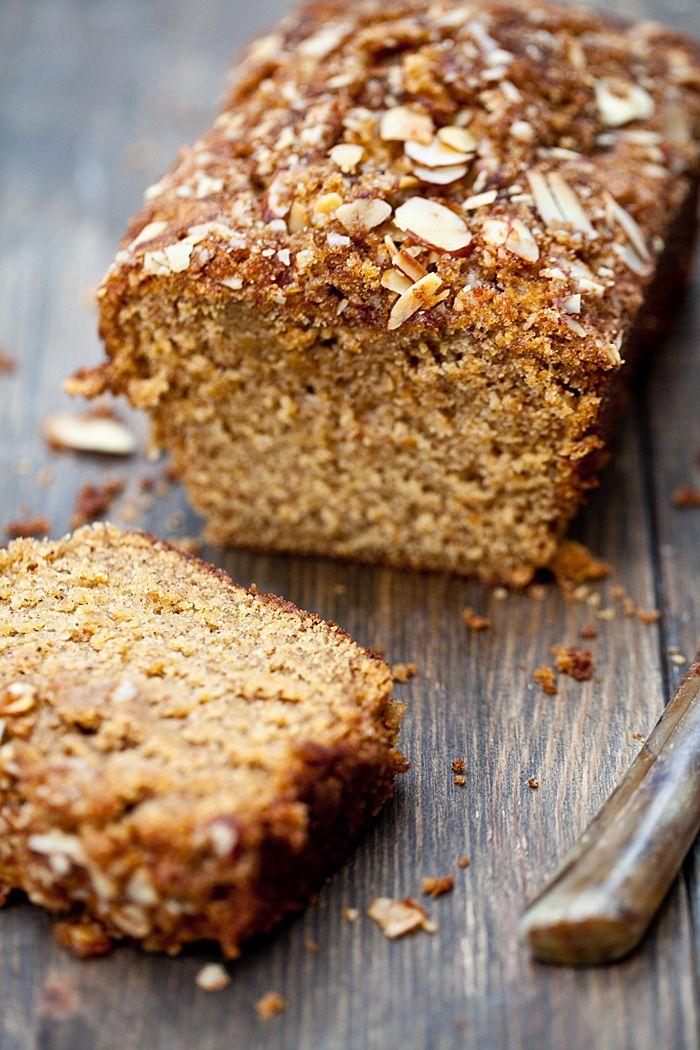 Almond & Brown Sugar Pumpkin Bread