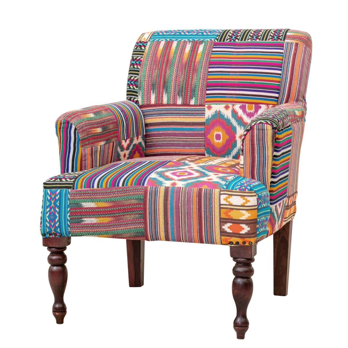 Fiesta Patchwork Armchair