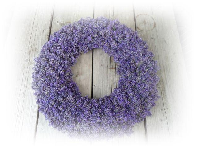 lavendelkrans www.thee-en-meer.blogspot.com
