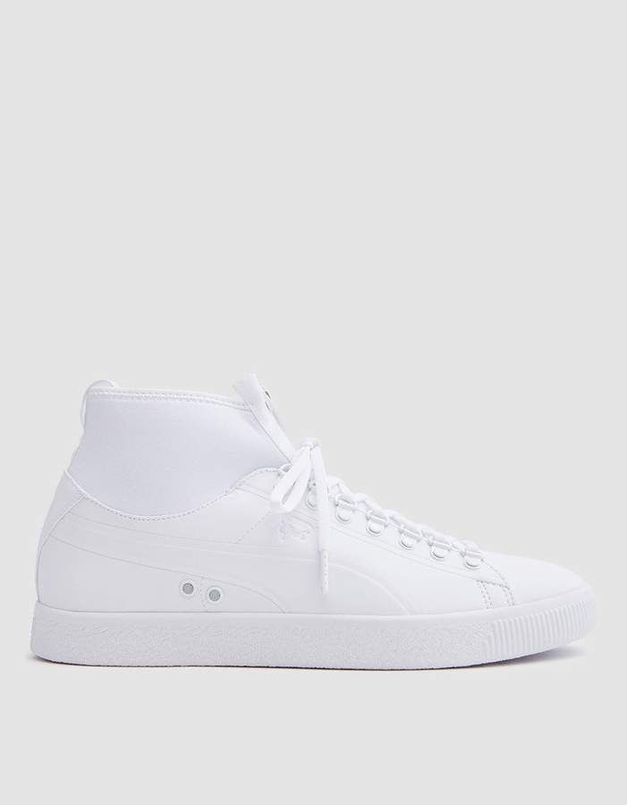 Clyde Sock Rains in White | Products | Suede sneakers, Socks